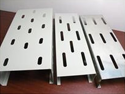 Ventilated Perforated Metal Cable Supports